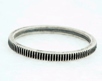 Silver Coin Cog Ring Custom Handmade Urban Style Jewelry-MJ