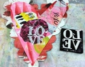 E-Book:  MiXed MEdiA Heart Art Workshop