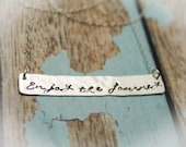 Enjoy the Journey Necklace in Sterling Silver