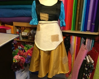 Cinderella's Day Dress - childrens sizes 4 thru 10