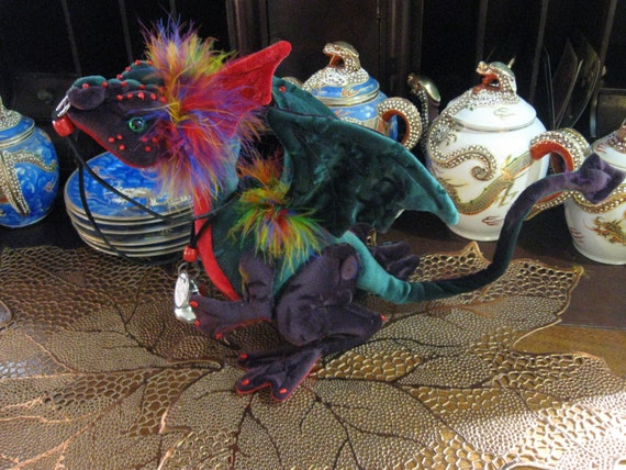 This is Jester, a Harlequin Nipper Dragon,