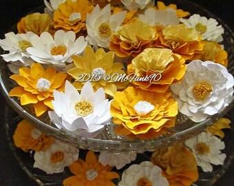 Wedding Paper flowers-50 2 1/2 inch Custom Colors
