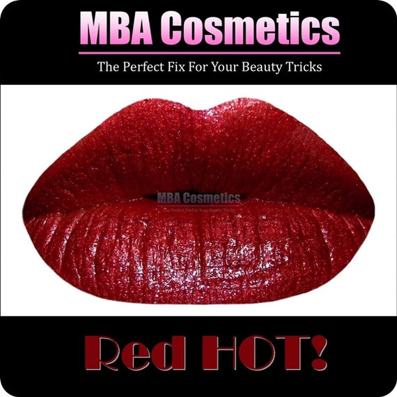 Red HOT Color Rich Lipstick