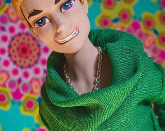 First Love Gay Boy doll wig Slater