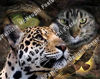 Jaguar Spirit 11x14 Poster Size Download