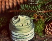 GreenWoods Body Butter Organic Vegan Natural with Shea butter. Grounding woody - evergreen unisex scent