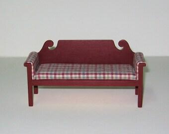 Miniature Sofa - 1/12th scale