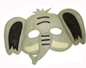 Children's ELEPHANT Felt  Safari Animal Mask