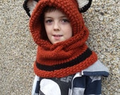 Little fox hood age 8 - adult