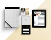 Melinda gold photography Marketing set - Instant download