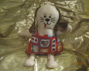 Patriotic Plush Pup