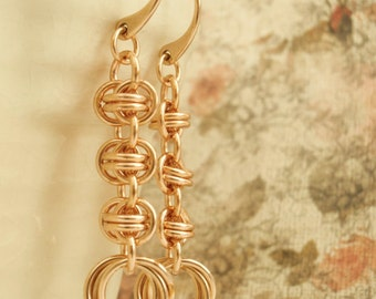 Bronze Earring Kit -  Twist of Fate Chainmaille