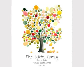 FAMILY TREE Custom print - wall art wall decor, room decor, art poster, Anniversary, Special Day Family Tree, Birthday