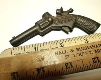 Pluck Miniature Vintage Cap Gun. Made in USA.