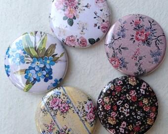 Floral Button Set