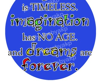 """Laughter is Timeless Walt Disney Quote Digital Instant Download 8.5"""" x 11"""" PDF"""
