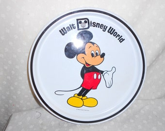 Mickey Mouse Metal Tray/Plate from Disney