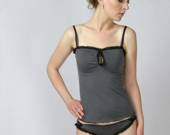 wool lingerie set - MERINO II sleepwear range - made to order