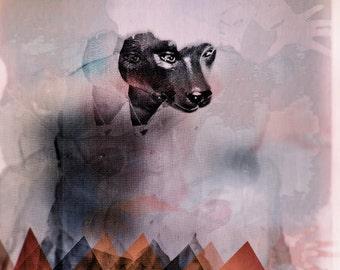 bear CONTEMPORARY ART PRINT