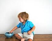 Vintage Robins Egg Blue Pottery 24k
