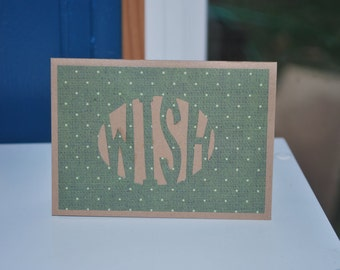 25% off // Wish Gift Card Holder