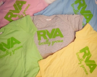 RVA Locally Grown- Onesie