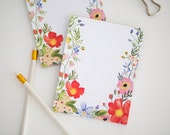 Watercolor Poppy Notepad - Stationery & Office Accessories -