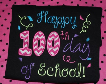 100th Day of School- child or teacher shirt