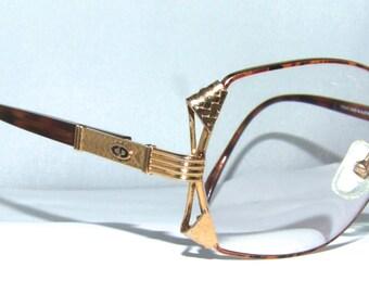 Christian Dior Vintage Eyeglass Frames 1980s . Large Lens style  model 2734