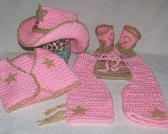 Baby Western Clothes - Baby Girl Cowboy Outfit - Baby Cowgirl Outfit - Baby Cowgirl Halloween Costume - Baby Cowgirl Costume