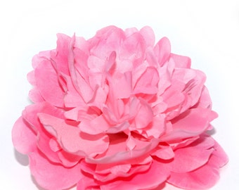 Large Pink Peony - Artificial Flower