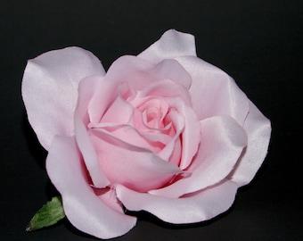 Large Pink Rose -  Artificial Flower, Silk Flower Heads