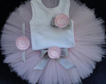 Birthday Tutu | 1st Birthday Tutu Dress | Baby Birthday Tutu | Cake Smash Tutu | Tutu Skirt | Pink and Silver Tutu