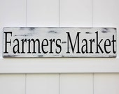 Farmers Market Sign // Hand Painted Sign // Rustic Modern Farm House // Wooden Sign Wall Art // Farmhouse Artwork // Farmhouse Decor