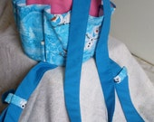 Special listing for (((((Kris Vitela)))))   Cotton Canvas Tote Frozen Character Olaf