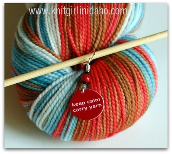 how to carry up yarn in knitting