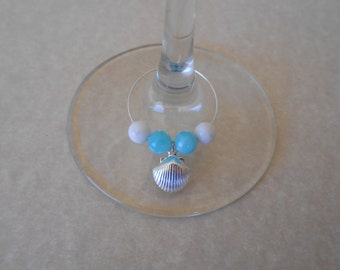 Shell Wine Glass Charms