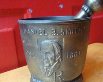 Vintage Danial B. Smith Mortar & Pestal