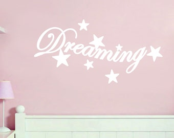Dreaming - Nursery and Kids Bedroom Wall Decals
