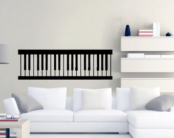 Piano Keys   Music Wall Decals Part 42