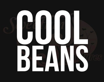 Cool Beans - Vehicle Decal
