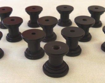 DIY Knob Bases Set of 12 Oil Rubbed Make your Own Drawer Pulls