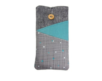 iPhone 6S Case, iPhone 5, iPhone 6 Plus Cover, iPod 6G, 6S Plus Sleeve, iPhone 6S Cover, iPhone 6 Case,  iPhone 6S Pouch, Grey iPhone Case