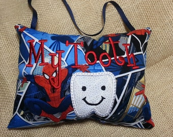 Spiderman  Tooth Pillow