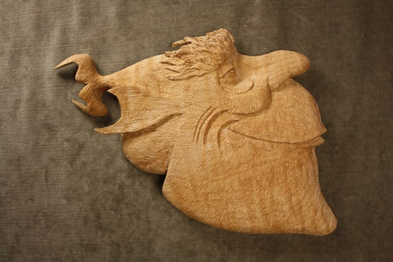 Personalized fish wood carving fishing by treewizwoodcarvings for Fish wood carving