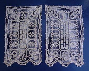 Antique Handmade Lace Linens