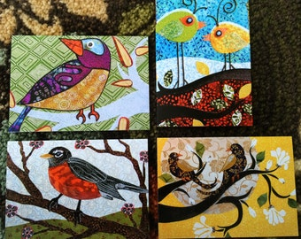 Assorted Birds - Framable greeting cards