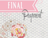 Final Payment for....Chrissy