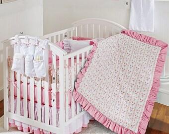 Crib Quilt Pattern, Crib Sheet and Skirt Pattern, Diaper Stacker Pattern, Nursery Accessories Pattern, Simplicity Sewing Pattern 1151