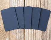 50pc NAVY BLUE Lakeland Series Business Card Blanks